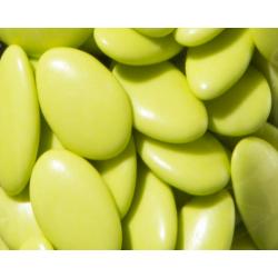 Dragées chocolat vert anis