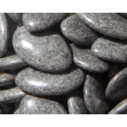 Dragées chocolat grise